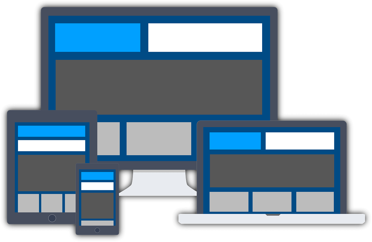 Smart numbers - responsive image logo